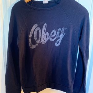 🌻2/$55🌻Obey crewneck sweater